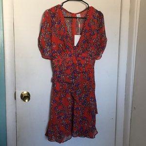 Selfie Leslie V-Neck Dress